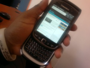 BlackBerry Torch 2 9810 OS 7