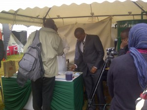 The GXP 200 Processor at the SME day in Nairobi Kenya