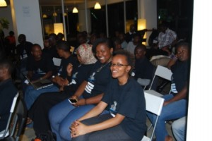team kaizen devs at blackberry hackathon nairobi