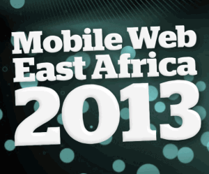 Mobile Web East Africa 2013 logo